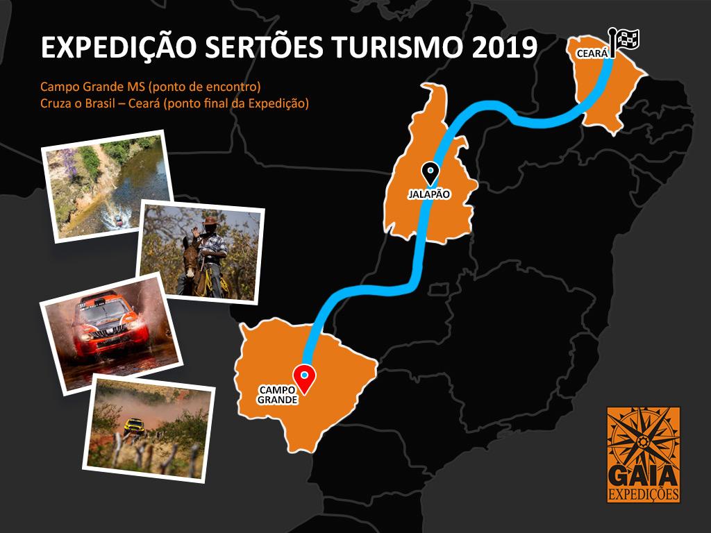 Calendario 2019 Campo Grande Ms.Expedicao Sertoes Turismo 2019 Gaia Expedicoes