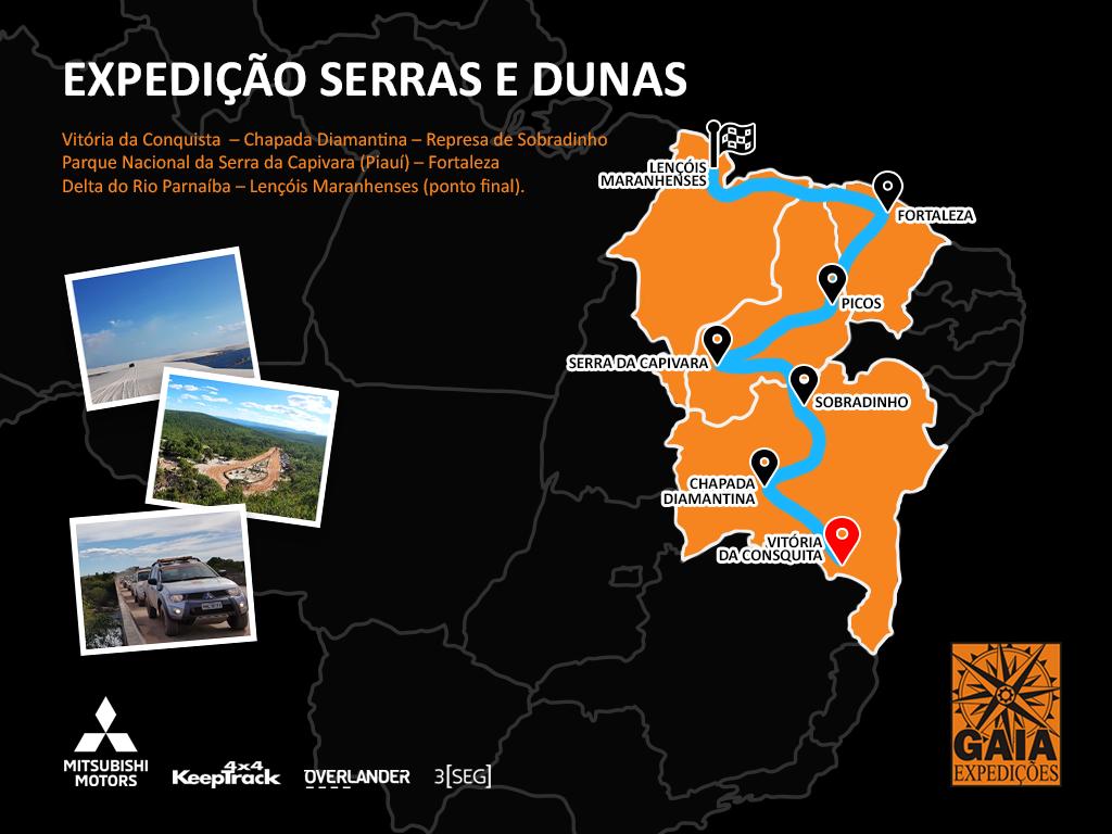 Expedição Serras e Dunas