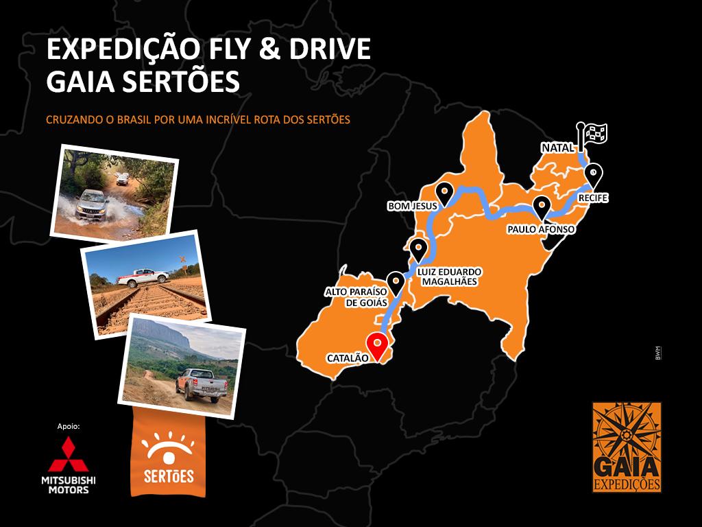 EXPEDIÇÃO FLY & DRIVE GAIA SERTÕES